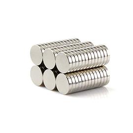 Yizhet 50pz Magneti Forti neodimio N38 Potente Magnete calamita Super Forte da Parete 10 x 2mm (10 x 2 mm)