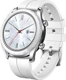 "HUAWEI Watch GT (Elegant) Smartwatch, Bluetooth 4.2, Display Touch 1.2"" AMOLED, Fitness Tracket con GPS, Rilevazione Battito Cardiaco, Resistente all'Acqua 5 ATM, Bianco"