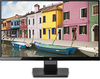 HP 22w Monitor per PC, Schermo 22 Pollici IPS Full HD, Risoluzione 1920 x 1080, 60 Hz, Micro-Edge, Antiriflesso, Tempo di Risposta 5 ms, Comandi sullo Schermo, HDMI e VGA, Reclinabile, Nero