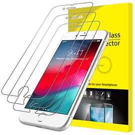 JETech Pellicola Protettiva Compatibile con iPhone SE 2020 / 8 / 7 / 6s / 6, in Vetro Temperato, Pacco da 3