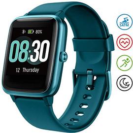 UMIDIGI Smartwatch Fitness Tracker Orologio Uwatch3, Smart Watch Donna Uomo Bambini Cardiofrequenzimetro da Polso Contapassi Sportivo Activity Tracker per Android iOS Xiaomi Samsung Huawei -Blu