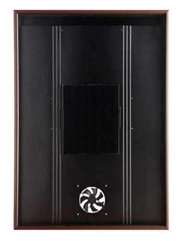 Riscaldatore aria solare Collettore OS20 Condizionatore Condizionamento Aspiratore Ventilatore Asciuga Pannello riscaldamento Deumidificatore Pompa calore Acqua ventilazione fresca Nakoair 717877246072 Marrone