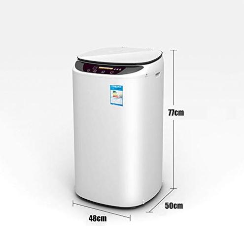 Lavasciuga 5 6 kg Completamente Automatica Assistente Famiglia Secco disidratazione Solo Pulsante Pink 8015286903824 Pink