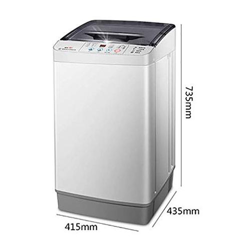 MY1MEY Mini Lavatrice lavasciuga Portatile Completamente Automatica 4 8kg 10 5lbs Che Lava Singola Vasca Bagno Maniglia canestro Scarico Manopola Controllo Intelligente MY1MEY 886034485996 Golden