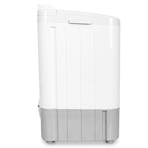 oneConcept SD002 - White Edition Lavatrice Campeggio Mini Lavatrice Caricamento dall'Alto Ideale Single Studenti Camper Capacit 2 8 Kg 250 Colore Bianco Blu oneConcept 4060656203985 Sd002