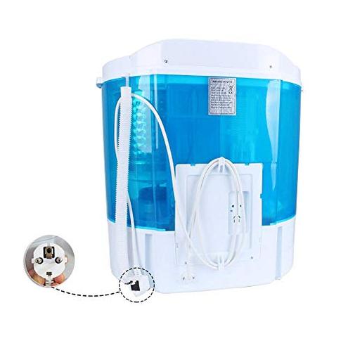 Display4top Mini-lavatrice Lavatrice Capacit 4 2 kg - Spina standard europea Blu D4P 703556785147 Blu