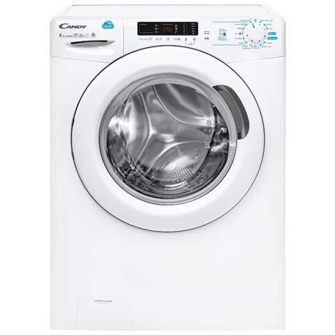 CANDY Lavasciuga CSWS 485D 5-01 Classe 8 5 kg bianco caricamento frontale Candy 8016361963535 31008574 principali elettrodomestici