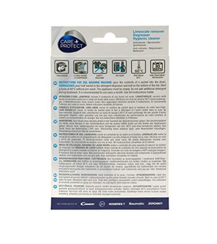 3 1 Anticalcare - Sgrassante - Igienizzante 4 bustine - Care Protect CARE PROTECT 8016361934580 35601769