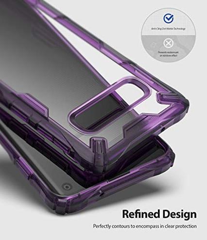 Ringke Fusion-X Custodia Compatibile Galaxy S10 6 1 Difesa Militare Testata Protezione Paraurti Posteriore TPU Resistente Urti Ammortizzante Cover Galaxy S10 2019 - Royal Purple Ringke 8809628568754 Royal Purple