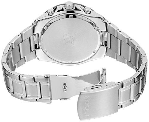 Citizen AN3411-51E - Orologio polso uomo cinturino acciaio inox colore argento Citizen 4974374204646 Nero AN3411-51E