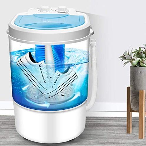 KJRJX Mini Scarpe Lavatrice Portatili Pattini Pigri Automatico Washer Piccoli elettrodomestici Lavaggio Scarpe KJRJX 6925676328811