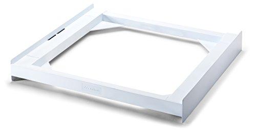 Meliconi Base Torre Basic Kit Sovrapposizione tecnopolimero lavatrice asciugatrice Poliuretano Bianco Portata max 250 kg Meliconi 8006023272563 Bianco 656100 Cucina
