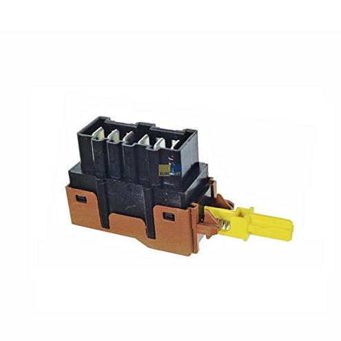 1x Interruttore pulsante lavatrice asciugatrice 124927140 AEG Electrolux AEG Electrolux 4016417004100
