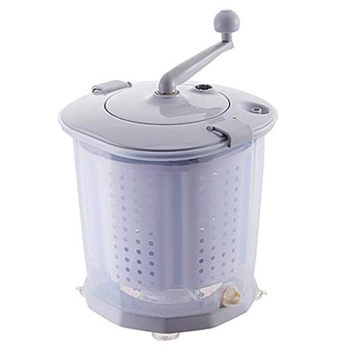 Mini Lavatrice Lavanderia Automatica Mano Disidratatore Manuale Portatile Non Elettrico capacit 10 Litri Campeggio Campeggio Campeggio HCH Lavatrice 6199325711839 Gray