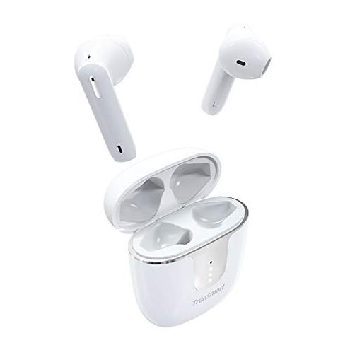 Tronsmart Onyx Ace Cuffie Bluetooth senza fili 5 0 4 microfoni Auricolari Bluetooth Impermeabile IPX5 Wireless TWS Cancellazione rumore CVC 8 0 audio aptX Qualcomm Riproduzione 24h bianco Tronsmart 6224007767276 Bianco