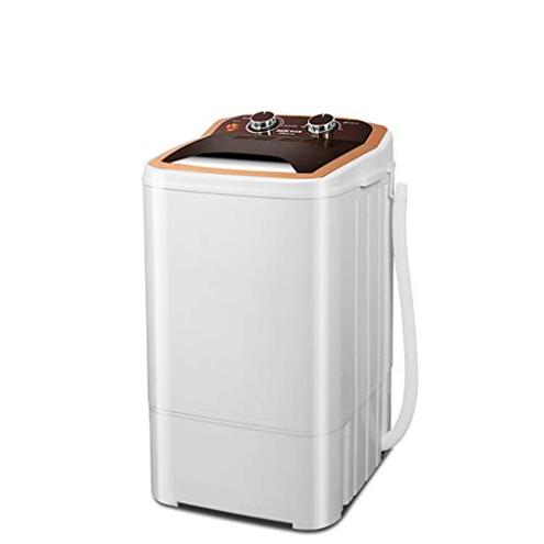 Mini Lavatrice Lavanderia Semiautomatica Vasca Piccola Rondella Portatile Funzionamento Silenzioso Lavaggio Lavapentole Famiglia Operazione Silenziosa 3KG 6 6Lbs HCP lavatrice 6920556612707 Paint Gold
