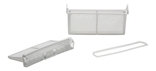 DREHFLEX- Filtro Lanugine Filtro cattura peluria diverse marche asciugatrice Bosch Siemens Constructa Neff Compatibile parti nr 650474 00650474 Piegabile - Set 3 parti DREHFLEX 4050535012142