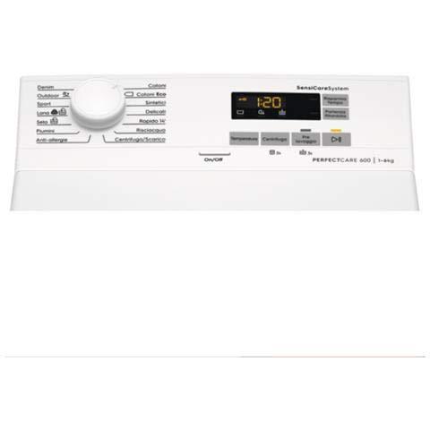 Electrolux EW6T560U Lavatrici Carica dall'Alto 6 Kg 57 dB Bianco Electrolux 7332543701384 Bianco EW6T560U