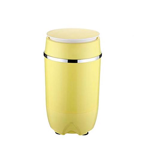 RMXMY Mini Piccolo eluizione Integrato Single Barrel Single Barrel Grande capacit Famiglia Bambino Bambino semiautomatico Piccolo Mini Lavatrice Color Yellow RMXMY 6925662358204 Yellow