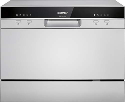 Bomann TSG 708 lavastoviglie Libera installazione 6 coperti Bomann 4004470708806 Argento TSG 708