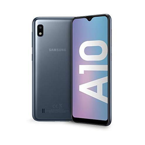 Samsung Galaxy A10 Smartphone Display 6 2 HD 32 GB Espandibili RAM 2 GB Batteria 3400 mAh 4G Dual SIM Android 9 Pie Versione Italiana Black SAMSUNG 8801643996260 Nero SM-A105FZKUITV CE