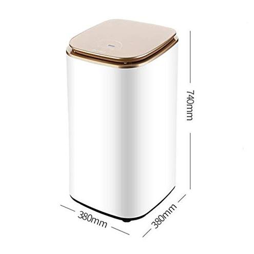 Dryer PIGE Asciugatrice Uso Domestico Piccola asciugatrice Asciugatura Rapida Controllo Intelligente Digitale asciugatrice disinfezione Grande capacit 800W casa Hotel Appartamento Dryer 6199336190357 Gold
