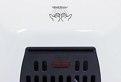 Asciugatore Jet Dryer Storm Pi Veloce Potente handlicher asciugatore mani Bianco acciaio inox Jet Dryer bianco 8596220006387