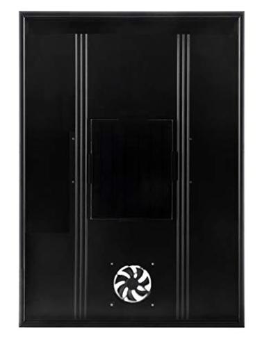 Nakoair Riscaldatore aria solare Collettore OS20 Nero Condizionatore Aspiratore Ventilatore Asciuga spazio Pannello riscaldamento Deumidificatore Pompa calore Acqua ventilazione fresca Nakoair 0716150893484 Nero