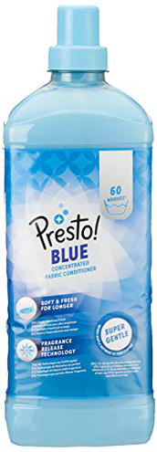 Marchio Amazon - Presto Ammorbidente blu 360 lavaggi 6 confezioni 60 lavaggi Presto 5400606002838 Salute bellezza