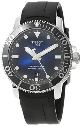 Orologio Tissot Seastar 1000 Powermatic 80 T1204071704100 Tissot 7611608285763 Blue T1204071704100