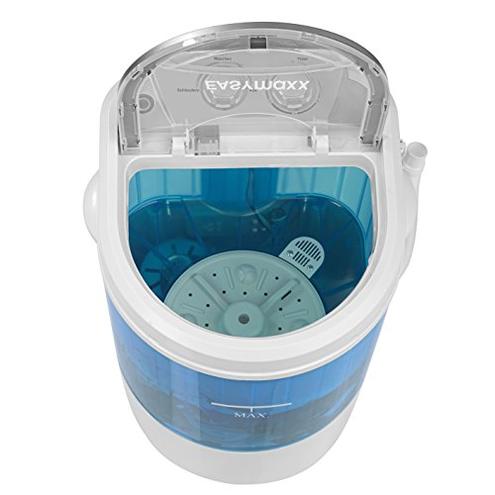 EASYmaxx 07475200125 lavatrice Portatile Caricamento dall'alto Blu Bianco 3 kg EASYmaxx 4016471174757 Bianco Blu 07475
