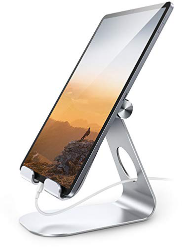 Lamicall Supporto Tablet Supporto Regolabile - Universale Stand Dock 2020 iPad PRO 10 5 PRO 9 7 PRO 12 9 iPad Mini 2 3 4 iPad Air Air 2 iPhone Samsung Tab Altri Tablets - Argento Lamicall 0705495121536 Argento S1 Stand Personal Computer