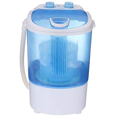 Mini Lavatrice Lavatrice Portatile - Livello Dell'acqua Regolabile Lavasciuga Compatta Automatica Appartamento Hotel Dormitorio Bianco WFFH 9064240801354 Cucina