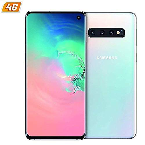 Samsung Galaxy S10 Dual SIM Prism White Other Version SAMSUNG 8801643712488 Bianco G973 DS WHITE