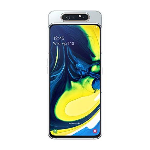 Samsung Galaxy A80 Smartphone Display 6 7 Super AMOLED 128 GB Espandibili RAM 8 GB Batteria 3700 mAh 4G Dual Sim Android 9 Pie Versione Italiana Silver SAMSUNG 8801643968717 Argento Ghost White SM-A805FZSDITV CE
