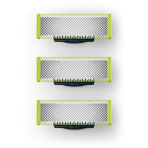 Philips QP230 50 OneBlade Lama Ricambio Confezione 3 Pezzi Philips OneBlade 8710103821977 Lime Green QP230 50 Salute bellezza