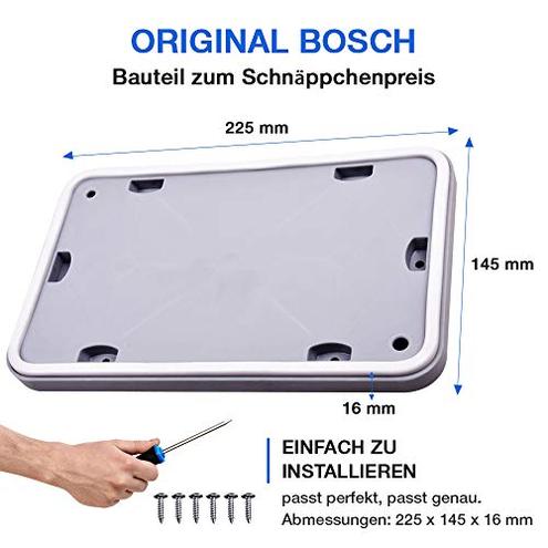Sportello manutenzione asciugatrici Bosch Siemens kit riparazione 6 viti VIOKS 4222568140004