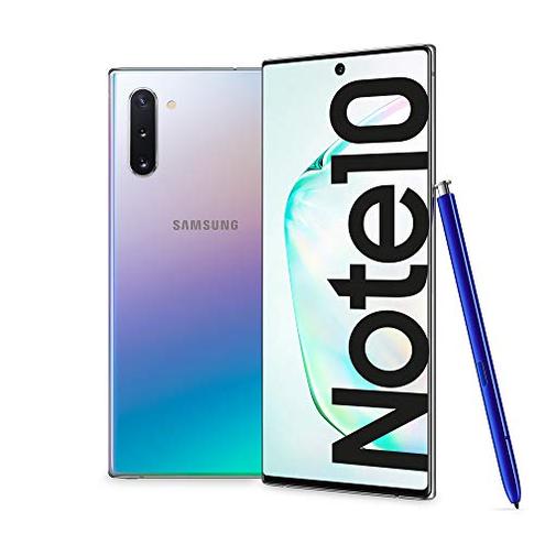 Samsung Galaxy Note10 Smartphone Display 6 3 Dynamic AMOLED 256 GB Espandibili SPen Air Action RAM 8 GB Batteria 3 500 mAh 4G Dual SIM Android 9 Pie Versione Italiana Aura Glow SAMSUNG 8806090035425 Aura Glow SM-N970FZSDITV