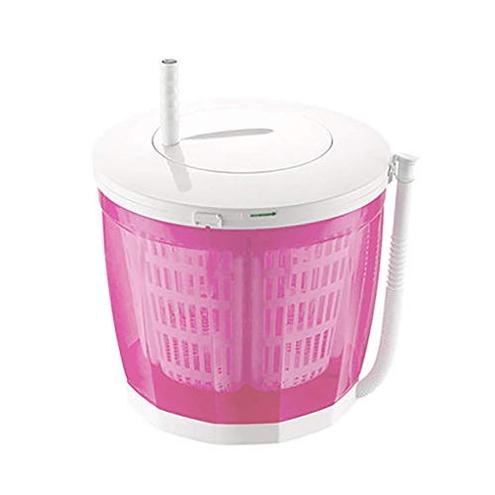 Lavatrice manovella portatile Asciugabiancheria manuale non elettrica manuale Lavasciuga Lavatrice banco campeggio Appartamenti dormitorio uso domestico 3 Kg 6 6 libbre Blu Grigio LXDDP 6215632147168 Pink Sport