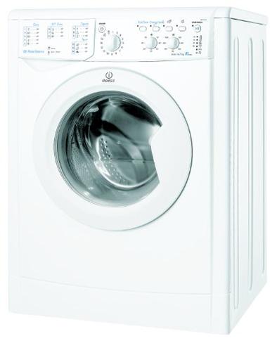 Indesit IWC 71051 ECO EU Libera installazione Carica frontale 7kg 1000Giri min Bianco lavatrice Indesit 8007842850260 IWC 71051 ECO EU