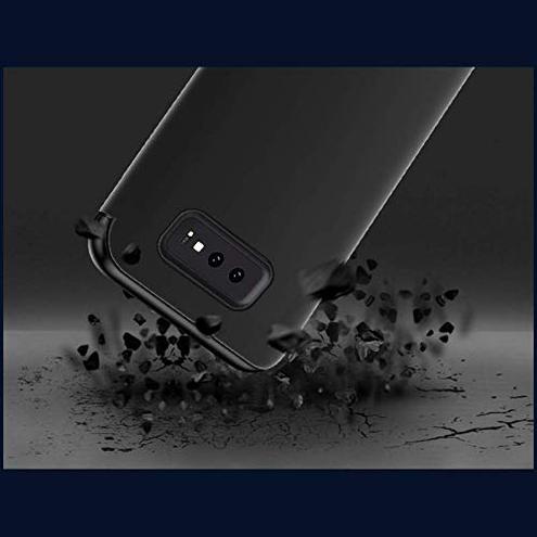 Coque Clear View Standing Case Custodia Specchio Flip Case Samsung Galaxy S10 Plus Nero Coque 6plus 6splus 6919538861974 Nero Samsung Galaxy S10 Plus CE