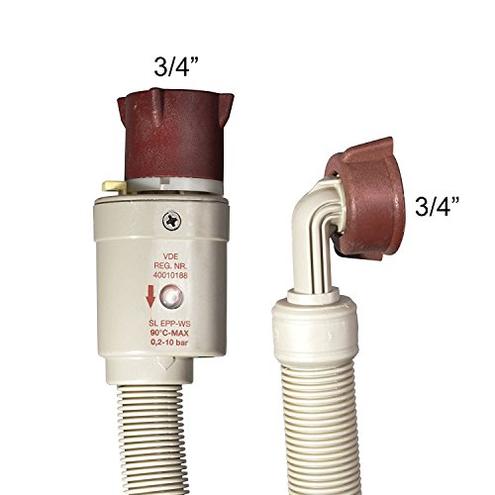 VARIOSAN Tubo aspirazione Safety 11121 1 50 3 4 Aquastop lavatrice lavastoviglie VARIOSAN 4260323011121 Cucina