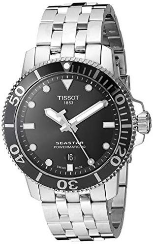 TISSOT SEASTAR 1000 POWERMATIC 80 T120 407 11 051 00 orologio uomo Tissot 7611608285756 T1204071105100