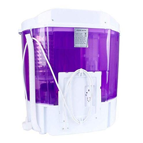 Display4top Mini-lavatrice Lavatrice Capacit 3 6 kg - Spina standard europea Porpora D4P 0703556785154 Porpora