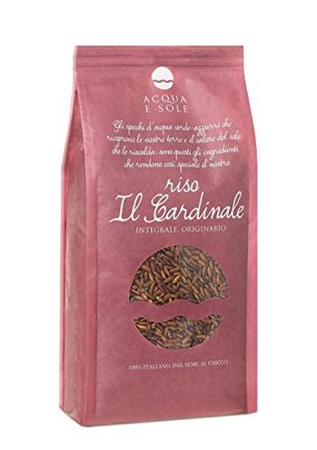 Riso Rosso Integrale Aromatico Il Cardinale 1kg Acqua Sole 8051511090013