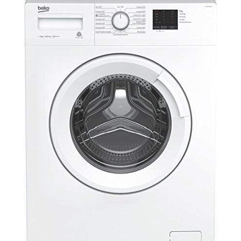 Beko WTX61031W Libera installazione Carica frontale 6kg 1000Giri min Bianco lavatrice Senza installazione BEKO 8690842142031 bianca WTX61031W principali elettrodomestici