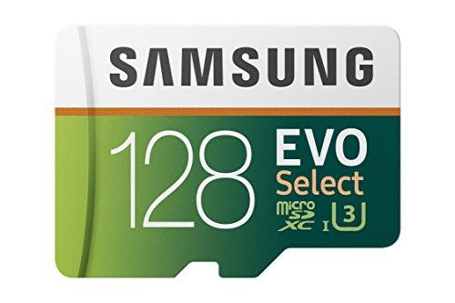 Samsung Memorie MB-ME128HA Evo Select Scheda MicroSD 128 GB UHS-I U3 Fino 100 MB Adattatore SD Incluso Samsung Memorie 8806090168307 MB-ME128HA EU