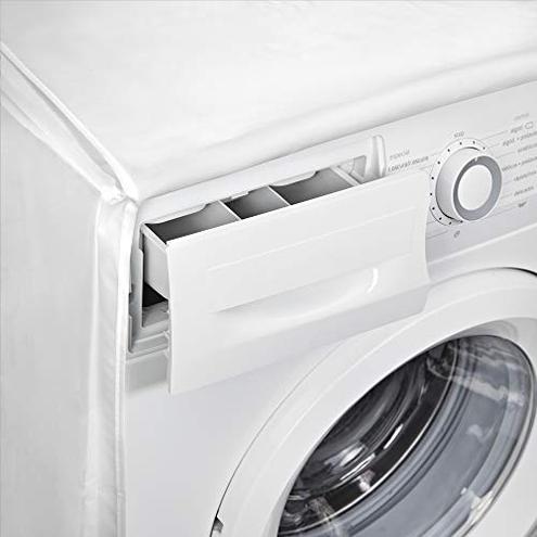 Rayen Coperchio lavatrice base coperchio lavatrice caricamento frontale Copertura impermeabile lavatrice asciugatrice 84 60 60 cm Materiale PVA Coperchio chiusura Rayen 8412955023980 Chiaro 2398 11 Casa
