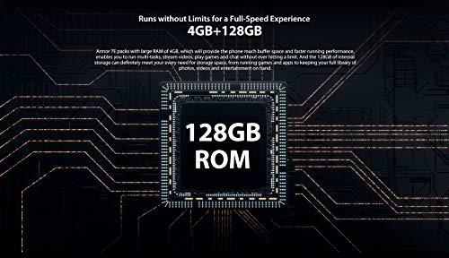 Ulefone Armor 7E 2020 Rugged Smartphone - Helio P90 Octa Core 4GB RAM 128GB ROM Fotocamera 48 MP FHD Schermo 6 3 Android 9 0 IP68 Telefono Cellulare Resistente Ricarica Wireless 10W NFC Ulefone 0795749733868 Nero