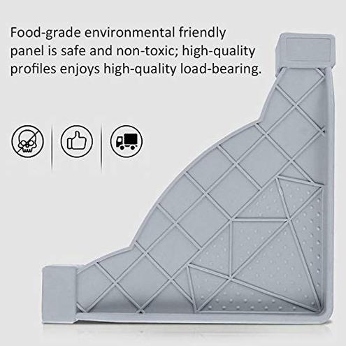 Lembeauty base mobile frigorifero acciaio inox base regolabile 1 2 asciugatrice lavatrice Lembeauty 0749977890701 -